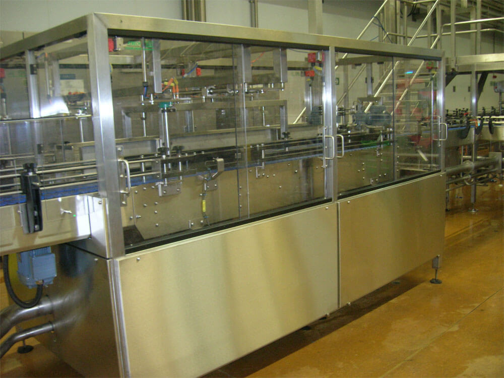Conveyor system for Dairy Project